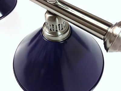 Large QUALITY Pool Snooker Billiard Table Light Brushed with 4 x Blue Shades