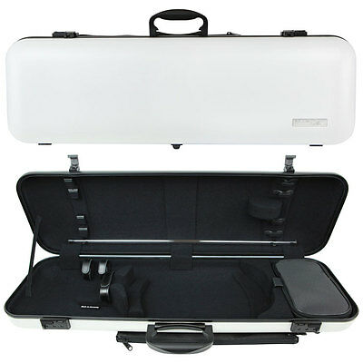 GEWA Air 2.0 Oblong Violin Case for 4/4 Full Size Violin White Matte