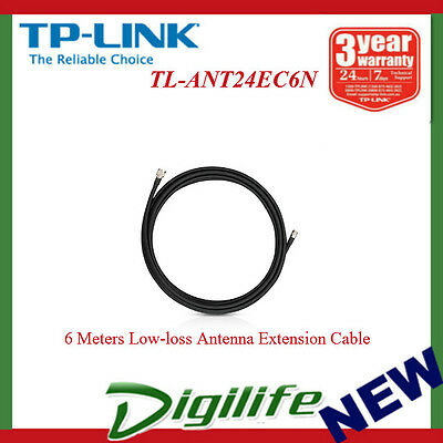 TP-LINK TL-ANT24EC6N 6 Meters Low-loss Antenna Extension Cable
