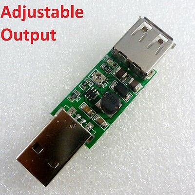 DC-DC Converter USB Step Up Boost Module 5V to 6-15V Power Supply Solar charger