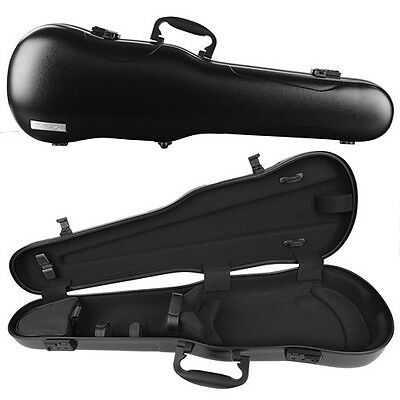 GEWA Air 1.7 Shaped Violin Case for 4/4 Full Size Violin Black Matte