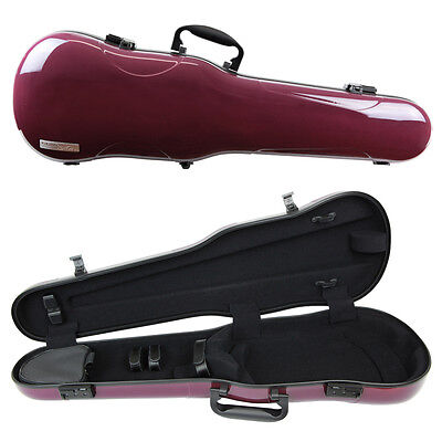 GEWA Air 1.7 Shaped Violin Case for 4/4 Full Size Violin Purple Gloss