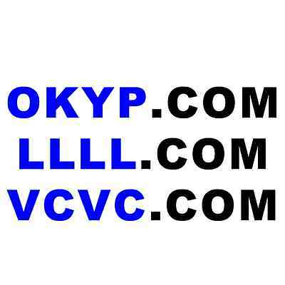 com rare 4 letter pronounceable brandable domain name llllcom vcvc