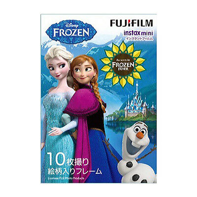 10 Sheet Fujifilm Instax Mini Film Frozen Fever 7 7s 8 10 20 25 50 #FJ024X