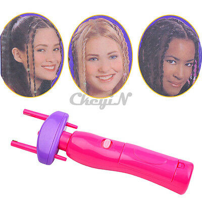 Electronic Hair Braider Twist Braid Maker Hair dressing wrapper tool New