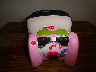 Fisher Price Kid Tough Digital Camera and Case L8341/L8342
