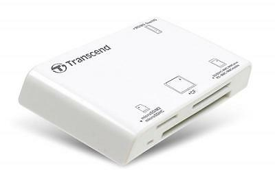 All-in-1 Transcend Multi Card Reader USB2.0 RDP8 White
