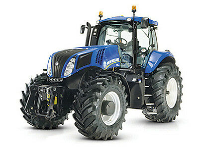 Tomy 43007 Britains Farm New Holland T8.435 Tractor 3 + Brand New In Box 1:32
