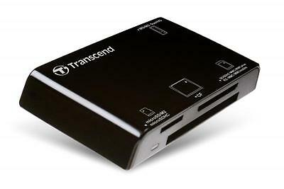All-in-1 Transcend Multi Card Reader USB2.0 RDP8 Black