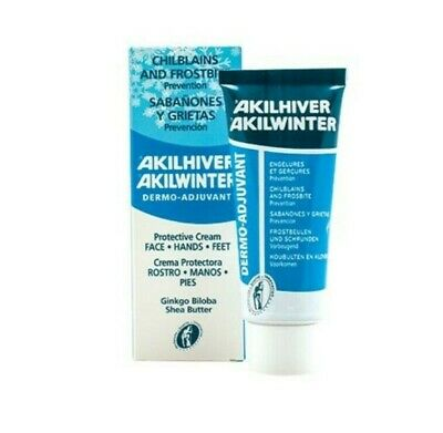 Akileine Winter Cream 75ml | Naturally Treats & Prevents Frostbite & Chilblains