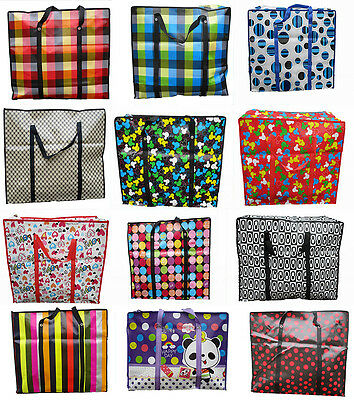 S/m/l/xl Strong Funky Pattern Design Laundry Bag Storage Reusable Shopping