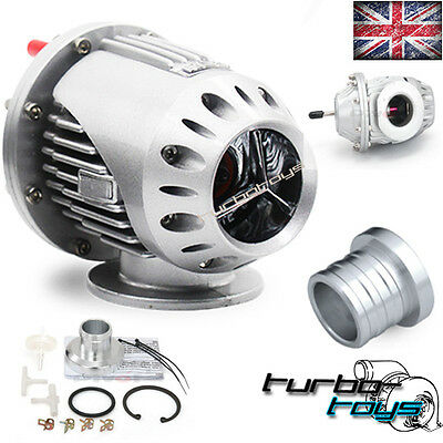 Universal 34Mm Sequential Ssqv Atmospheric Bov Dump Blow Off Valve Silver