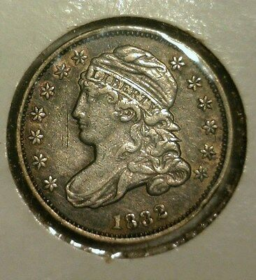 1832  Capped Bust Silver Dime  Xf+  Great Looking Coin!!!