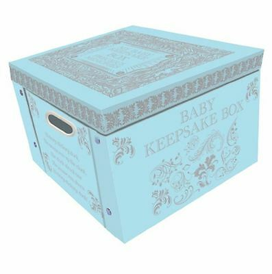 Blue My Baby Keepsake Box A Lifetime Of Memories Large Collapsible Storage Box