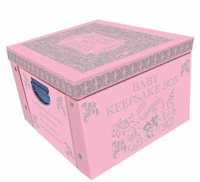 Pink Baby Large Collapsible Storage Box