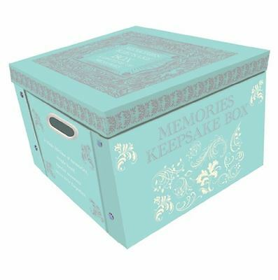 Tiffany Blue Large Collapsible Storage Box