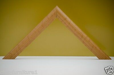 12m Pack of 25mm Depth Pine Wooden Picture Frame Moulding