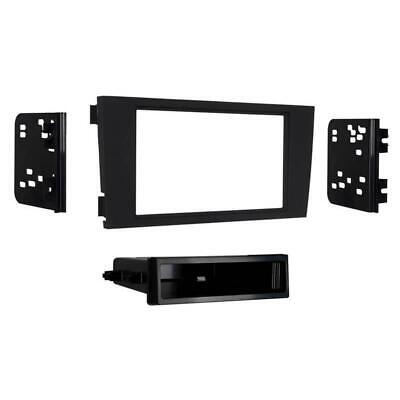 Metra 99-9108B Matte Black Single/Double DIN Dash Kit for Select 2000-2005 Audi