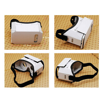3D Google VR Virtual Reality Glasses Cardboard Game Movie for Smart Phone EF