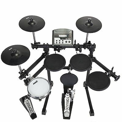 New Sonic Drive 5 Piece Digital Electronic Drum Kit