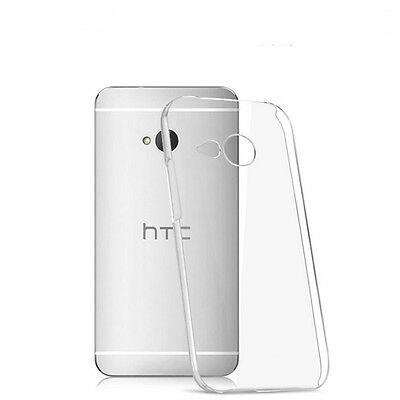 For HTC One M7/8/9 Ultra-Thin Clear Transparent Soft TPU Silicone Case Cover