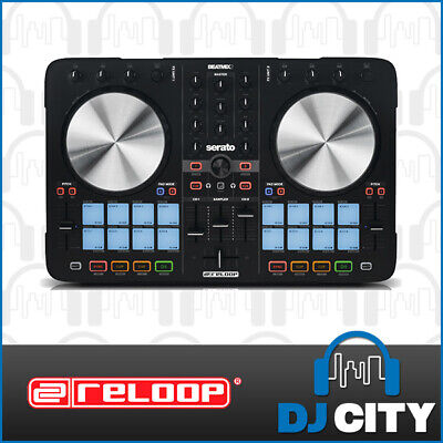 Reloop Beatmix2 mkII Digital DJ MIDI Controller 2-Channel with SERATO DJ Soft...