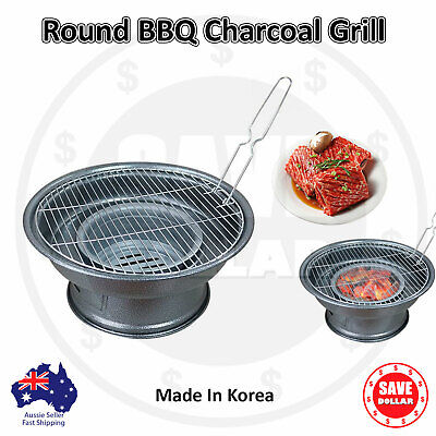 Charcoal Portable Heavy Duty Stainless Steel Charcoal BBQ Grill Camping Outdoor