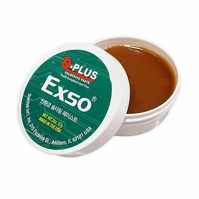 Rohs Compliant Lead Free Soldering Paste Made in USA 2oz (57g)