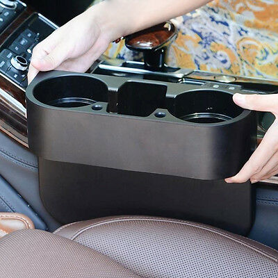 Universal Hotsale Car Seat Seam Mobile Shelf Content Box Wedge Cup Drink Holder
