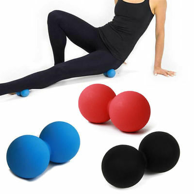 Peanut Lacrosse Ball Solid Mobility Massage Ball Myofascial Trigger Point Relax