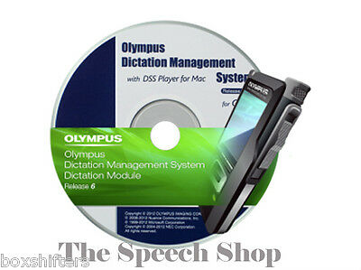 Olympus (ODMS) Dictation Management System R6 - Dictation Module & License