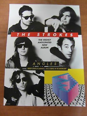 THE STROKES - Angles [OFFICIAL] POSTER *NEW*