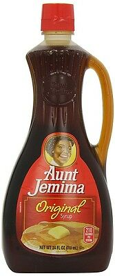 Aunt Jemima Original Syrup 710ml  USA import Free UK Delivery