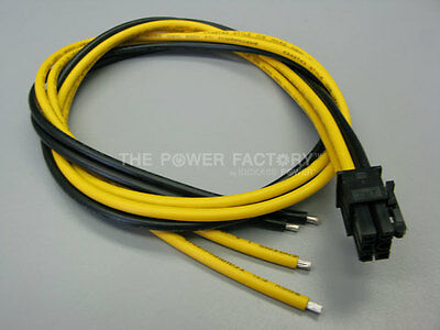 Bitmain Antminer S1 S3 S5 S7 6 pin 4 wire 14 AWG PCIE Power Supply Cables