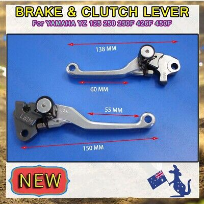 One Pair CNC Billet Clutch Brake Lever For Yamaha YZ250F YZ 250F 2007 2008 New