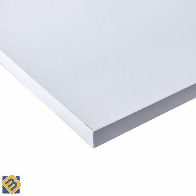White Faced MDF - Melamine MDF Board White MDF Sheets - 18mm