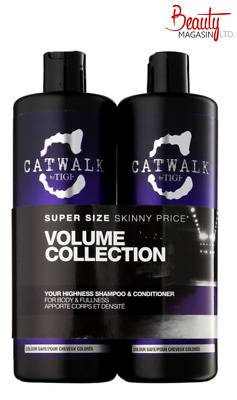 TIGI Catwalk Your Highness Elevating Shampoo & Conditioner Tween Duo 2x 750ml