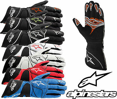 Alpinestars Tech 1-KX Karting Gloves, Ideal for Autograss & Kart Racing, SALE