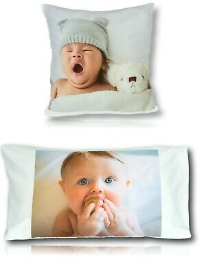 Personalised Cushion Cover or Pillow Printed Photo Christmas Gift Large Print