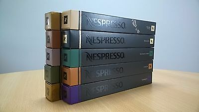 Nestle Nespresso Coffee Capsules Pods ORIGINAL ALL FLAVORS long expiration date
