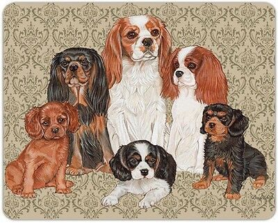 Cavalier King Charles Cutting Board Tempered Glass