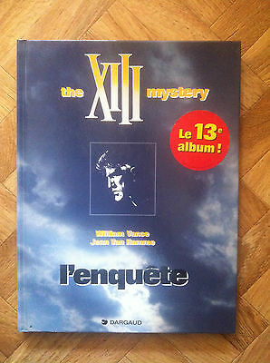 The Xiii Mystery L'enquete Eo Proche Du Neuf (B13)
