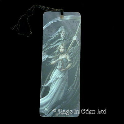 *SUMMON THE REAPER* Fantasy Art 3D Bookmark By Anne Stokes (15.5x5.5cm)
