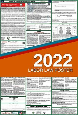 2019 (SPANISH) Kentucky State & Federal Labor Law Poster LAMINATED