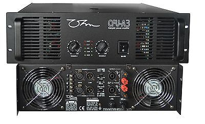 OHM CFU-A3 Amplificateur 2 X 2200W 2 Ohm Bridge 4400W 4 Ohms LP Crossover *NEUF*