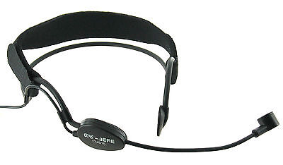 Noise Cancelling Headset Mic TA4F for Shure Wireless Transmitter RoHs Condenser