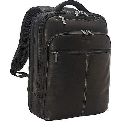 Kenneth Cole Reaction Back-Stage Access Colombian Business & Laptop Backpack NEW
