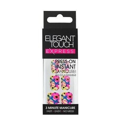 Elegant Touch express faux ongles - TENDANCE FLEUR (24 ongles)
