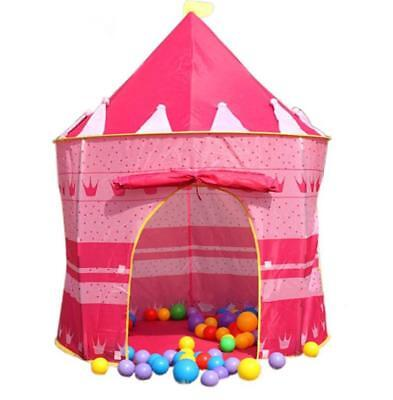 Lovely Kids Children's Game House Playhouse Play Tent  Christmas Gift Red Color