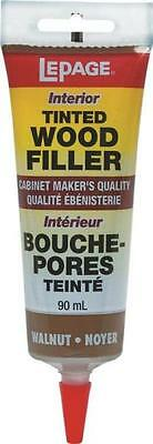 Lepage Henkel TINTED WOOD FILLER 393937 WALNUT 90ml stainable paintable